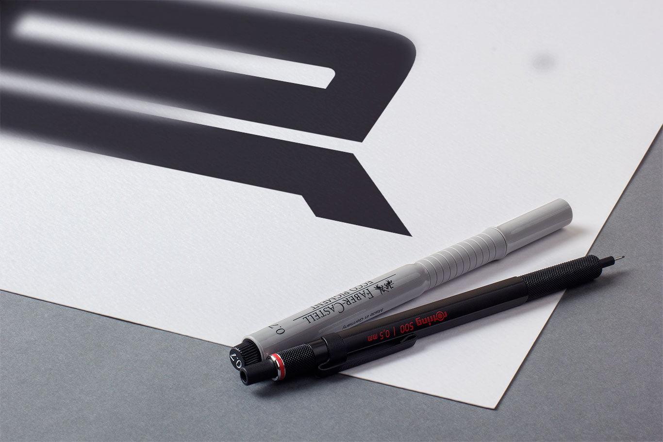 ar logo monogram