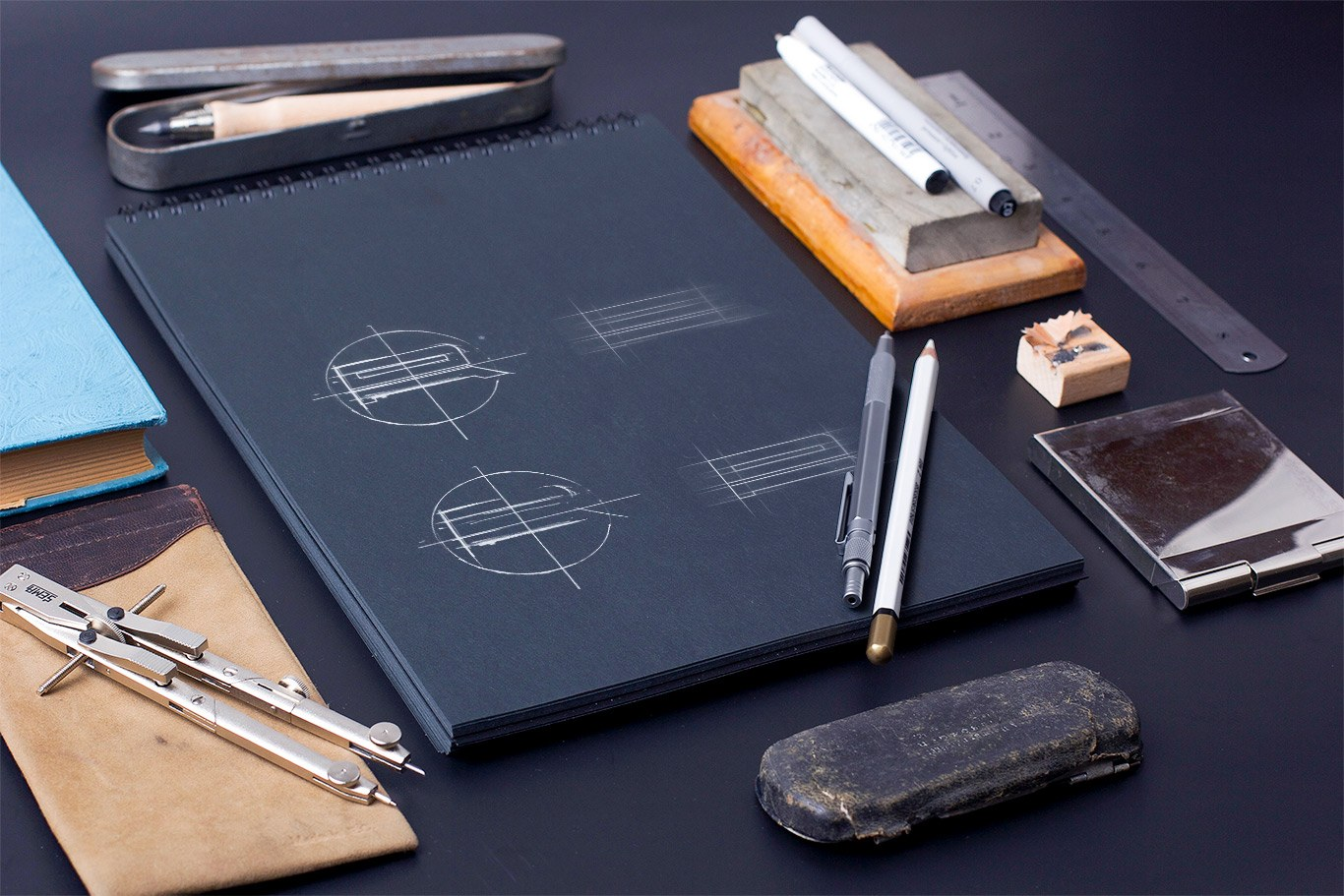 monogram sketches aleksandar radenkovic