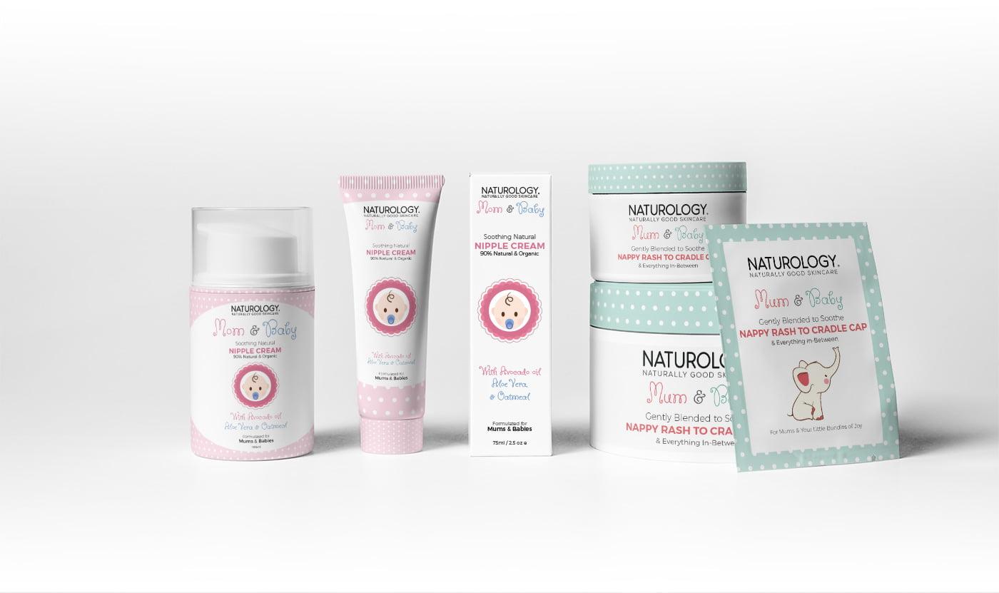 skincare packaging designed by aleksandar radenkovic