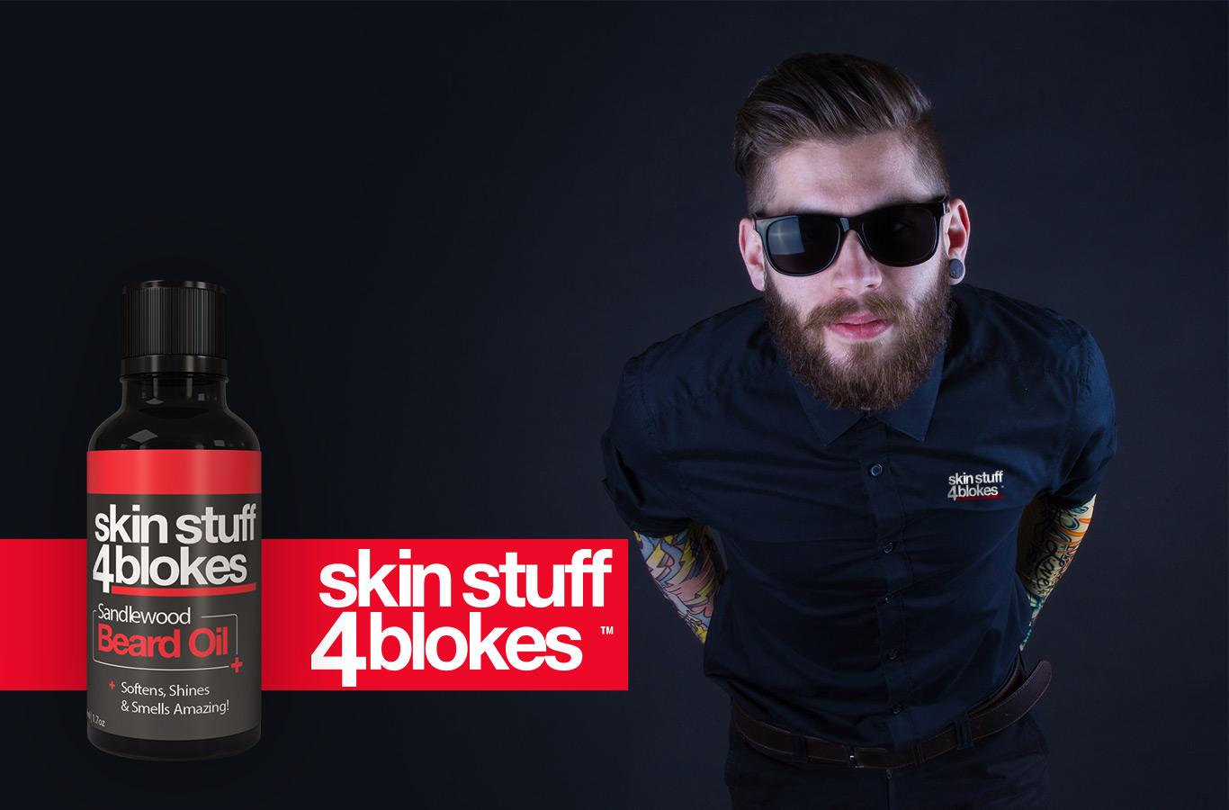 beard oils packaging design